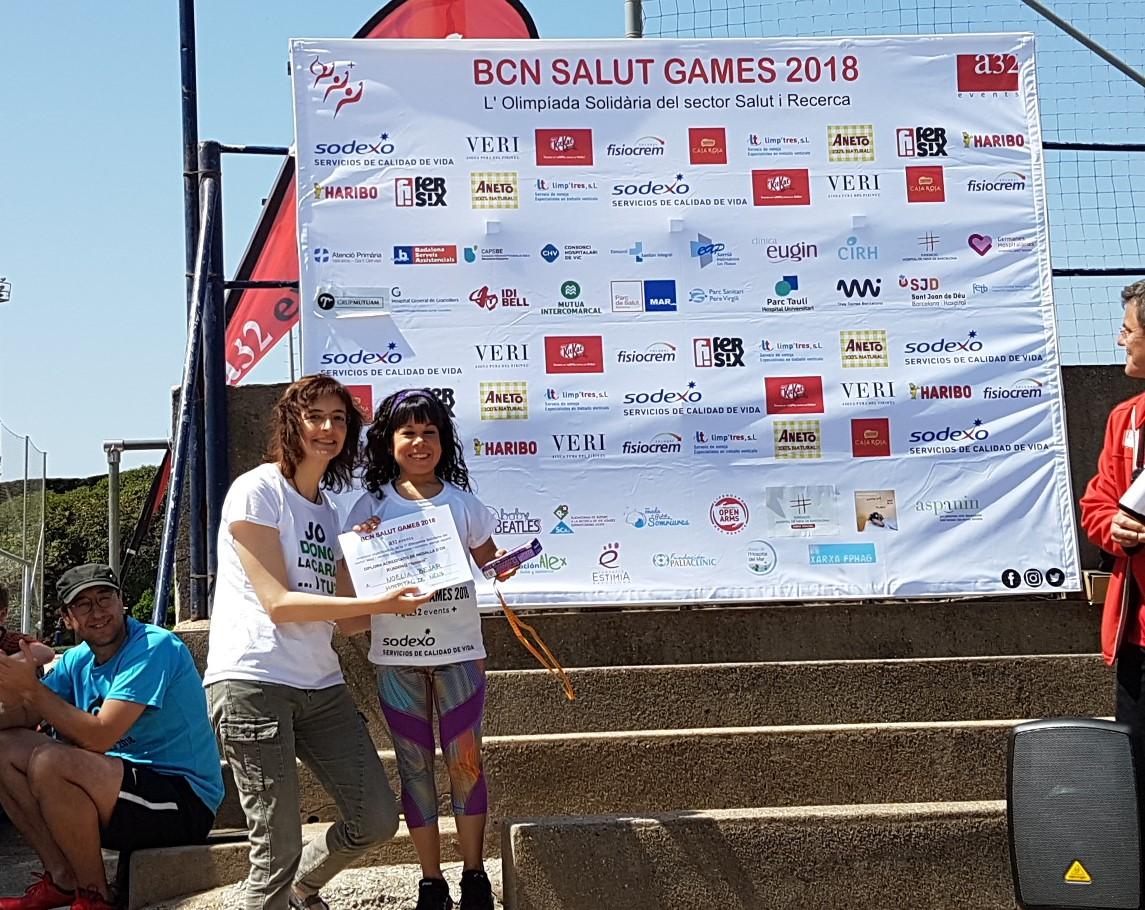 Campiona running 2018 Noelia Bejar