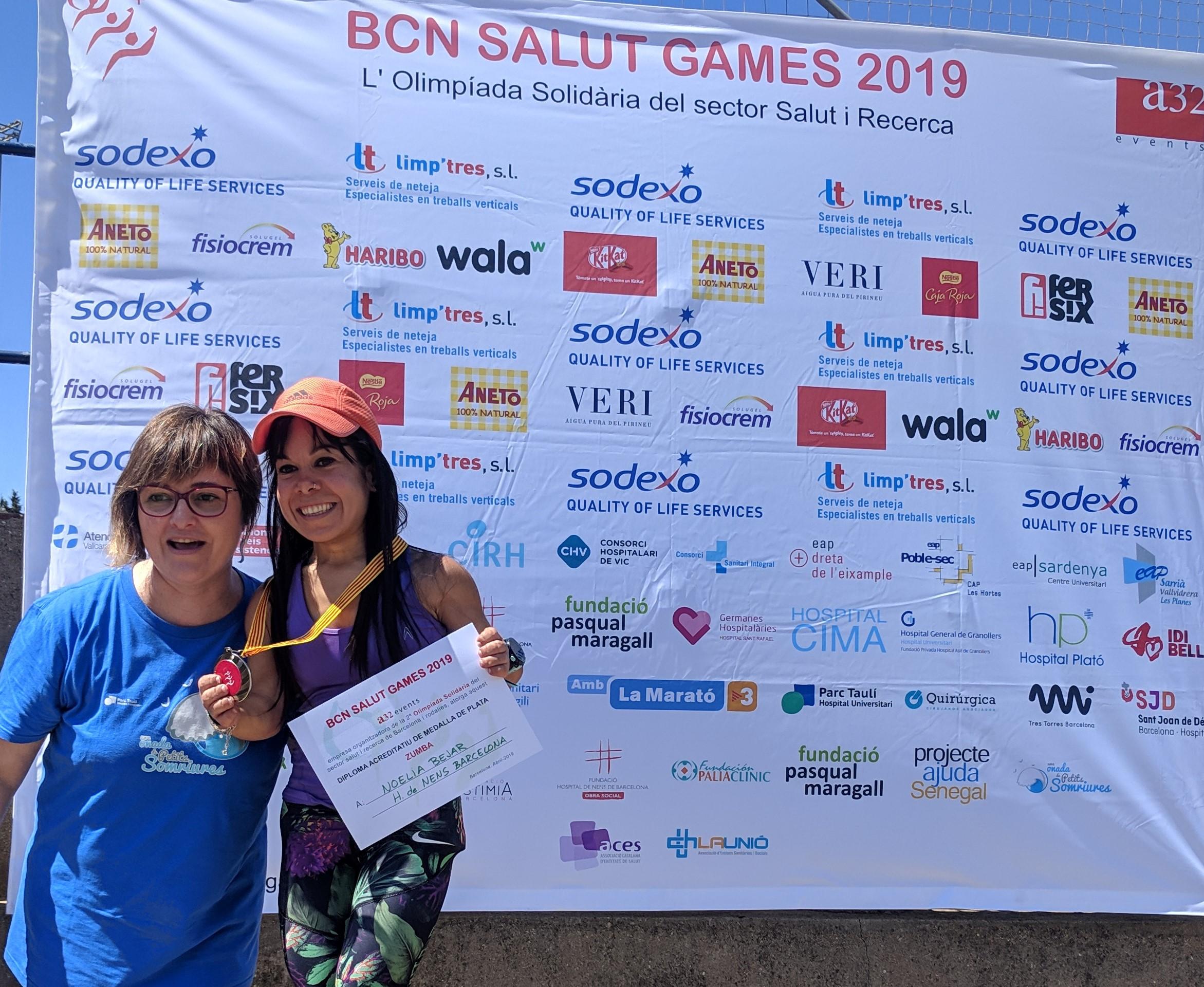 subcampiona zumba 2019 Hospital de nens Noelia Bejar