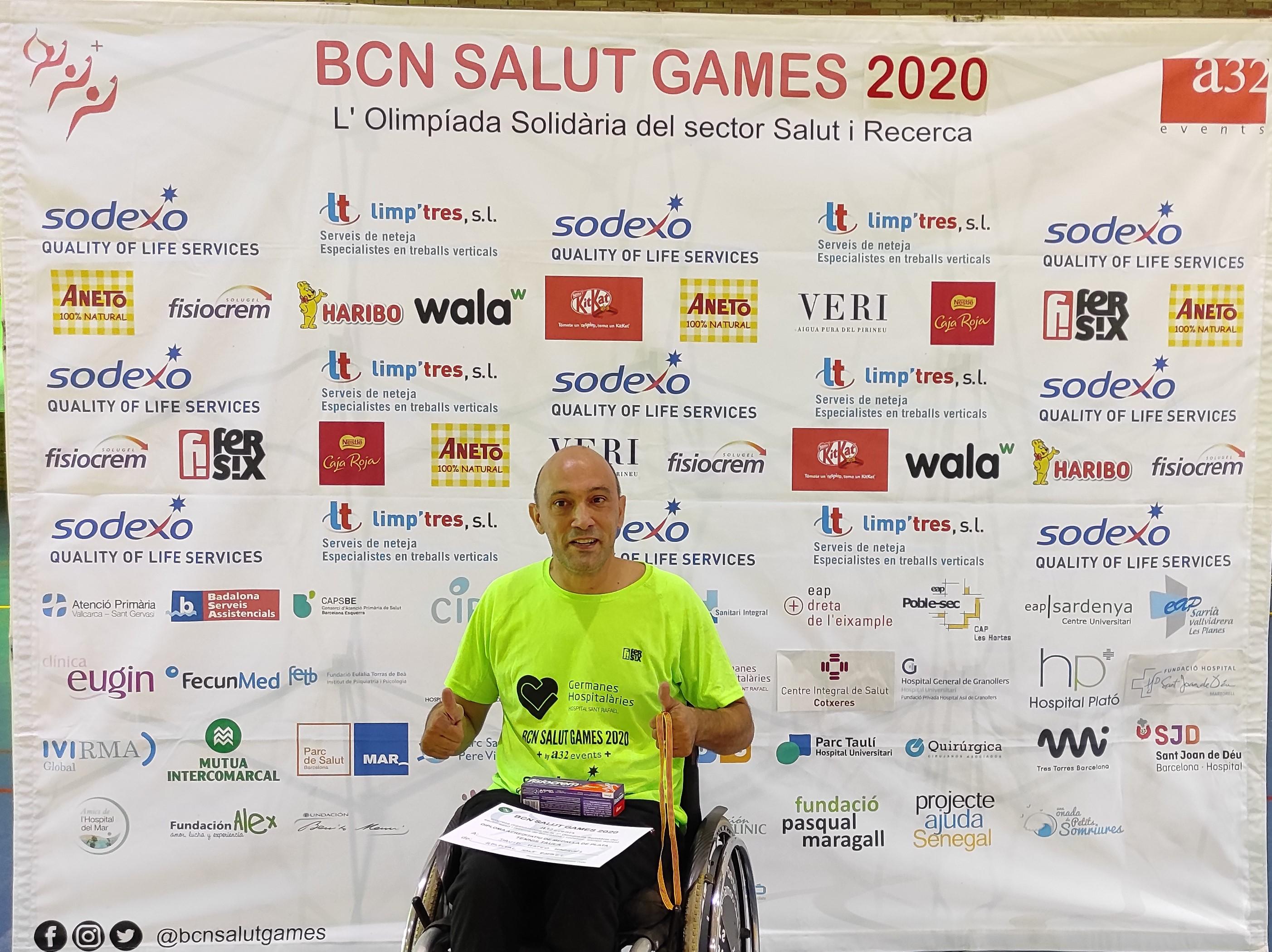 Subcampió tennis taula 2020 David Mateo